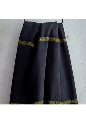 sort-og-stovet-gul-hammam-handklaede-fra-viil